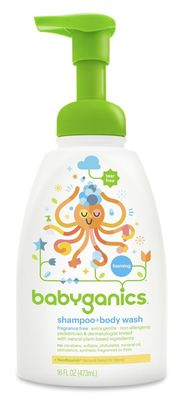 Babyganics Shampoo and Body Wash ~ $29: A more natural and expensive shampoo for baby. Read more on shampoo and soap here: https://www.lucieslist.com/baby-registry-basics/baby-shampoo-baby-soap/
