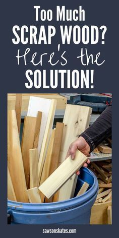 How to Decide What Scrap Wood to Keep | Saws on Skates® | Woodshop Ideas Project | Woodworking Shop  | Woodshop Layout Planner | Minimum Size For A Woodworking Shop | Woodworking Workshop Designs. #woodfurniture #Healthy eating