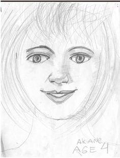 Akiane Kramarik,  THE SELF PORTRAIT, Age 4  (1999)