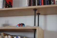 Plywood Bookshelf | Plywood Bookcase