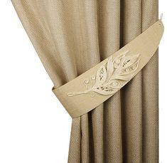 Jute flower tie backs Rustic tiebacks Curtain tiebacks jute image 0 Rope Curtain Tie Back, Drapery Tie Backs, Curtain Tie Backs, Elegant Curtains, Modern Curtains, Home Curtains, Window Drapes, Jute Flowers, Decorative Leaves