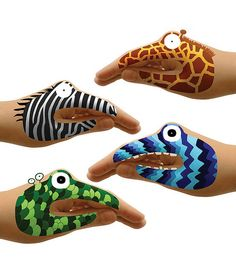 temporary hand tattoos :)  I have used these - they are so much fun.