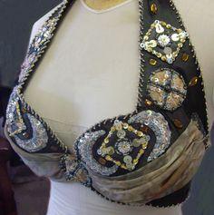 Art Deco style costume bra. Art Deco Fashion, Costumes, Bra, Jewelry, Style, Swag, Jewlery, Dress Up Clothes, Jewerly