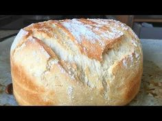 Quick and easy homemade bread (with common flour) Healthy Bread Recipes, Mexican Food Recipes, Cooking Recipes, Pan Dulce, Pan Rapido, My Favorite Food, Favorite Recipes, Mexican Bread, Pan Bread