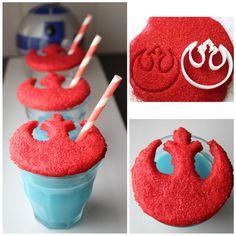 Star Wars Rebels Cookies and Blue Milk recipe
