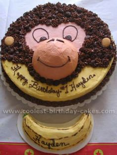 Coolest Curious George Cakes on the Web's Largest Homemade ...