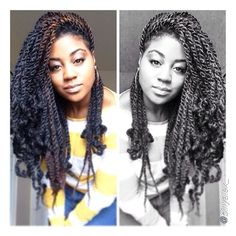 Love these chunky twists! @billyalex_