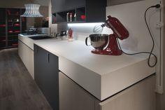 Use FENIX NTM super matte surfaces to modernize your future kitchen design projects.