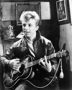 Rock idols of the 1950s Tommy Steel