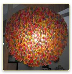 GUMMY BEAR LAMP!!!!!!! am i the only one who remembered how this ended in ICarly, like 4 years ago?????