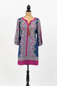 Southern Charm Printed Dress