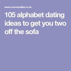 Alphabet dating ideas atlanta