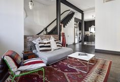 Architects Gregory Merkel and Catalina Rojas's remodeled Brooklyn townhouse | Remodelista