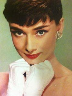 Audrey's gamine look