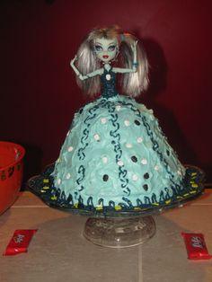 Our Frankie Monster High Birthday Cake