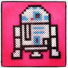 R2D2 Star Wars hama beads by wizyta