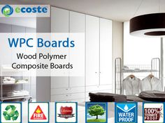 Revive Your #Wardrobe & Give it New Look by #WPC (Wood Polymer Composite Boards) - http://goo.gl/ZDpHep