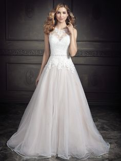 Ella Rosa Style BE345 #weddingdress #bridal