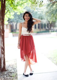 Stampede Style: corset + flowy skirt