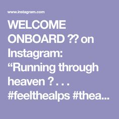 "WELCOME ONBOARD ✈️ on Instagram: ""Running through heaven 🤤 . . . #feelthealps #thealps #europetravel #exploreeurope #explorer #hiker #hikingadventures #switzerland🇨🇭 #italy🇮🇹…"" Run Through, G Adventures, Lps, Switzerland, Heaven, Europe, Italy, Running, Feelings"