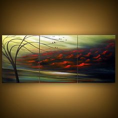 art abstract Original painting art original acrylic by mattsart, $350.00