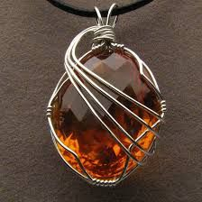 Image result for wire wrapped pendants