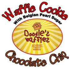 Doodles Waffles Cookies