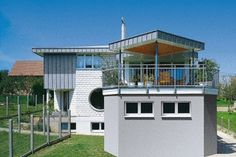 #House with zinc #roof