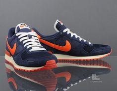 Nike Air Vortex Vintage: Navy/Red