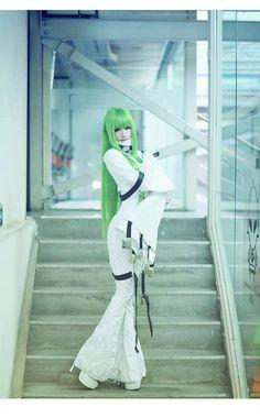C.C | Code Geass Hangyaku no Lelouch #cosplay #anime