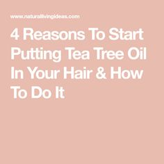 Beat dandruff, itchy scalp and head lice, and thicken and strengthen your locks by putting a few drops of tea tree oil in your hair. Tee Tree Oil, Hair Facts, Itchy Scalp, Spot Treatment, Warts, Dandruff, About Hair, Hair Oil, Tea Tree