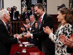 Spanish Royals attend the 2016 Cervantes Literary Award Ceremony