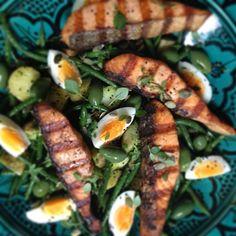 Salmon Salad Nicoise #lunch