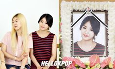 Fans have discovered that LADIES CODE EunB's funeral photo was cropped from a photo with RiSe. #RIPEunB and #RIPRise.
