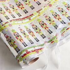Nutcracker Holographic Gift Wrap