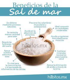 Hábitos Health Coaching   BENEFICIOS DE A SAL DE MAR
