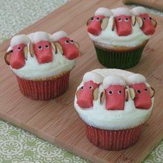 Bo Peep's Sheep Cupcakes | Recipes | Spoonful