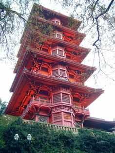This Japanese Tower, donated by Japan to Belgium, plus the Chinese Pavilion and the Museum of Japanese Art, together form the Museums of the Far East in Brussels.