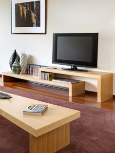 Temahome Cliff TV Stand & Shelf Unit, 2 Choices of Finish