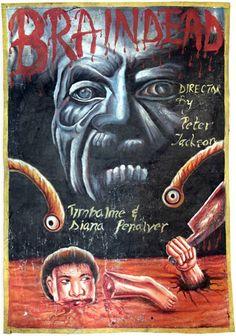 80f29b69ce0 Cartazes africanos bizarros que apresentaram Hollywood ao continente nas  decadas de 80 e 90