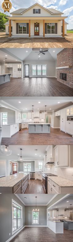 Literally my dream home. Sterling Farmhouse Living Sq Ft: 2206 Bedrooms: 3 or 4 Baths: 2 Lafayette Lake Charles Baton Rouge Louisiana Farmhouse Plans, Farmhouse Style, Farmhouse Layout, The Farmhouse, Farmhouse Decor, Farmhouse Bedrooms, Farmhouse Windows, Farmhouse Interior, Farmhouse Lighting