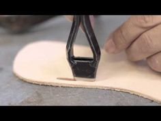 Shoe Making: The Sandal - London College of Fashion Short Courses Diy Leather Sandals, Handmade Leather Shoes, Leather Slippers, Make Your Own Shoes, How To Make Shoes, Leather Art, Leather Tooling, Felt Shoes, Sock Shoes