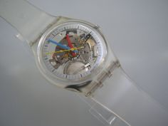 SWATCH GENT JELLY FISH 1985
