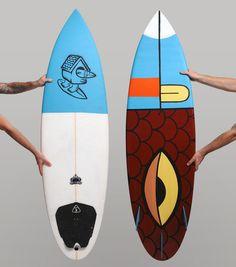 Surfin' Bird by skullboy, via Behance