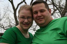My niece, Ginny, and her husband, Chad.