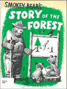 Vintage Smokey the Bear Booklet Coloring Books, Coloring Pages, Smokey The Bears, Yosemite Falls, Bear Party, Vintage Florida, Bear Cubs, Book Activities, Vintage Advertisements