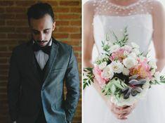 Amanda e Advan | Frankie e Marilia |Beautiful and Delicate – two words to describe this Brazilian wedding | Espaço Bartô