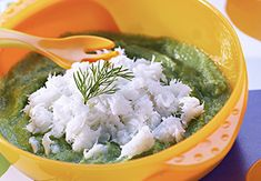Recette bébé: Cabillaud et verts de bettes champignons |Blédina | Blédina