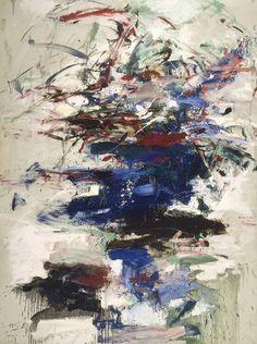 Joan Mitchell (American, 1925-1992), Marlin, 1960. Oil on canvas, 95 x 71 in.viaelpasha71