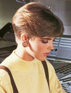 80's style hair cut